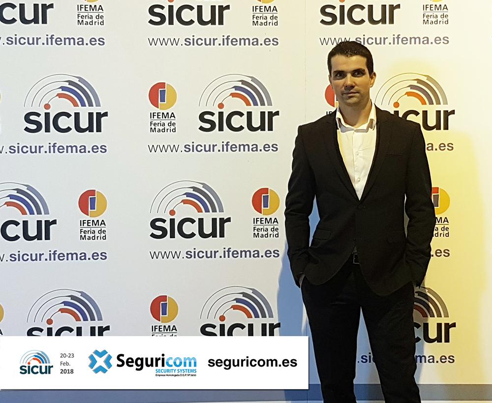 Natxo Durán en SICUR 2018